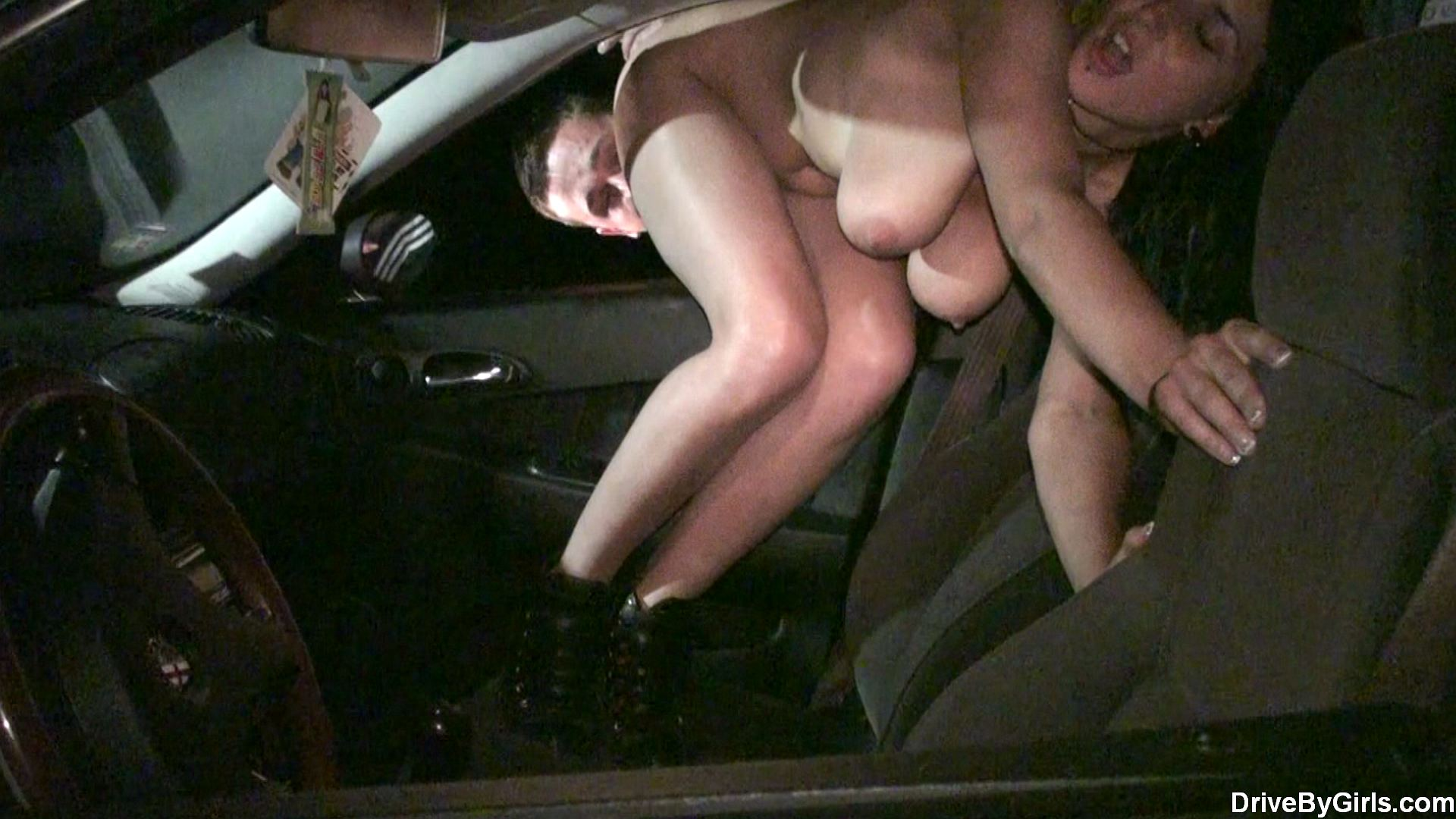 Camera shy cutie is filthy dogging whore