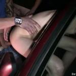 Doggin slut with small tits gets af facial