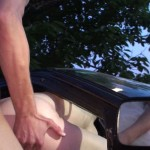 Nice evening for a drive gy girl to get fucked